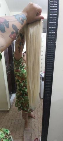 Mega hair louro da Malu - Foto 5