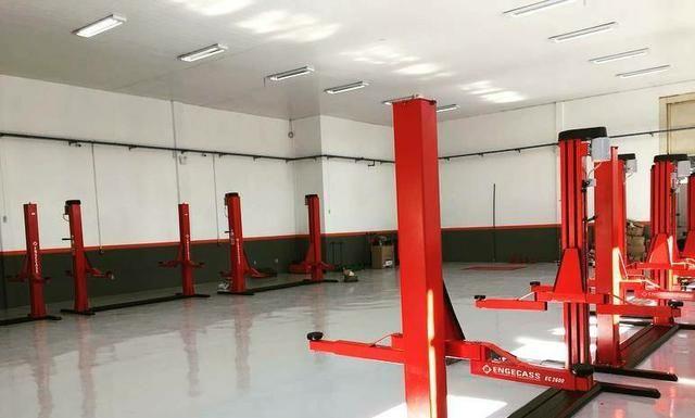 Elevador 4100 vermelho nunca foi usado