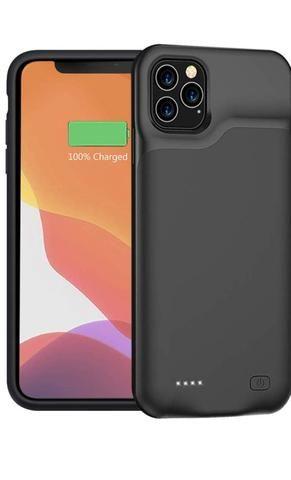 Capa Carregador Portátil p/ Iphone 11 Pro Max