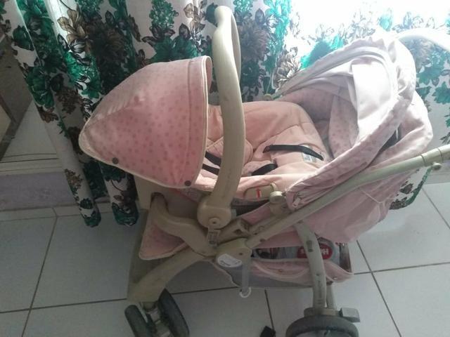 BORIGGOTO ?carrinho e bebê conforto? - Foto 4