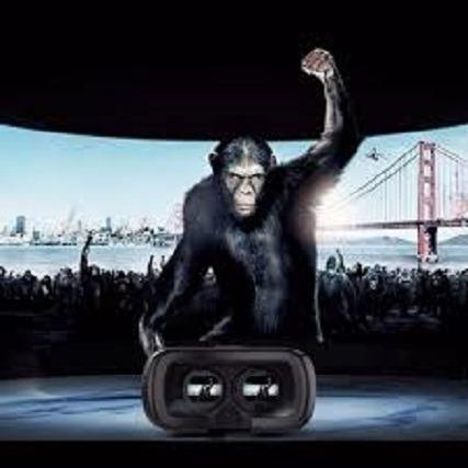 Oculos 3d Rift Realidade Virtual Cardboard Vr Box + Controle - Foto 5