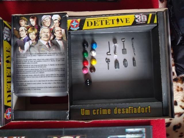 Jogo De Tabuleiro Detetive 3d - Estrela Original Com Óculos