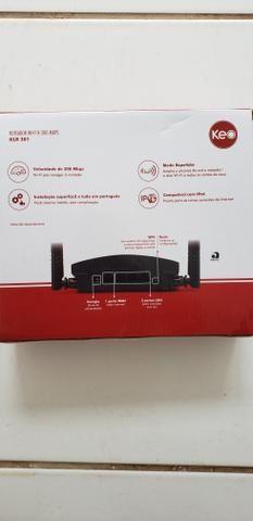 Roteador KEO WI-FI N300 MBPS KLR 301 - Foto 2