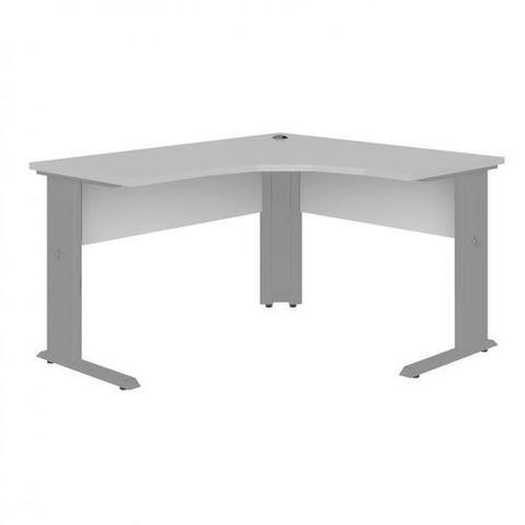Mesa para Escritório em L Angular Pé Metalico 135cmx135cm