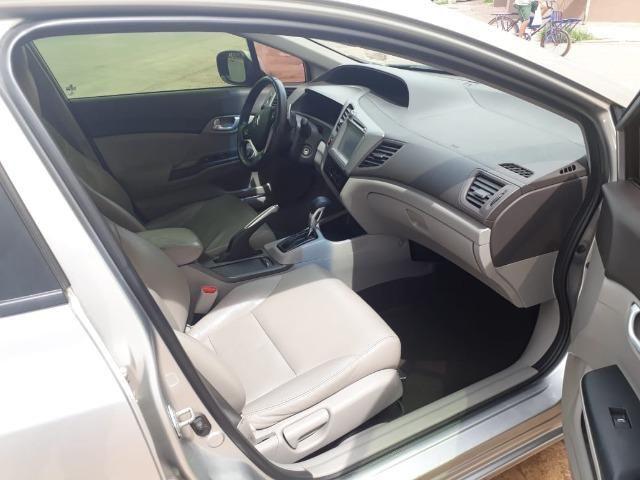 Honda Civic 2.0 LXR com kit multimídia original - Foto 11
