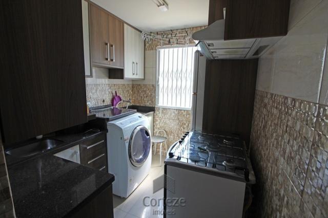 Apartamento mobiliado 2 quartos no Sítio Cercado - Foto 10