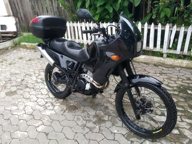 Nx 350 sahara preparada para viagens - Foto 2