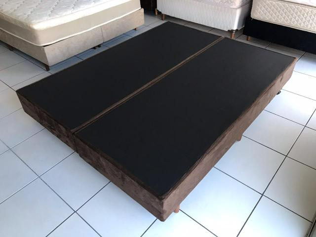 Base box Queen SIZE 1,98 x 1,58 m - ENTREGA IMEDIATA! - Foto 2