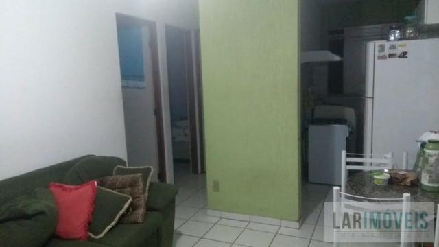 GS-Apartamento bem localizado em Valparaíso, 2 quartos climatizado sol da manha - Foto 2