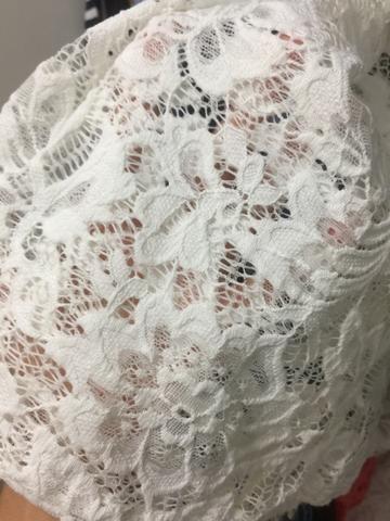 Vestido branco R$100 - Foto 3