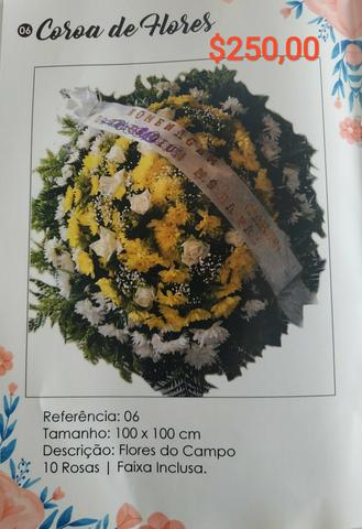 Coroas funebres - Foto 2