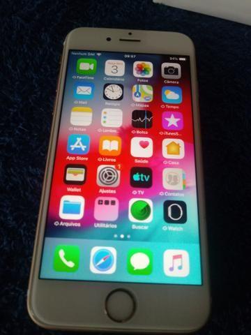 Iphone 6s dourado - Foto 6