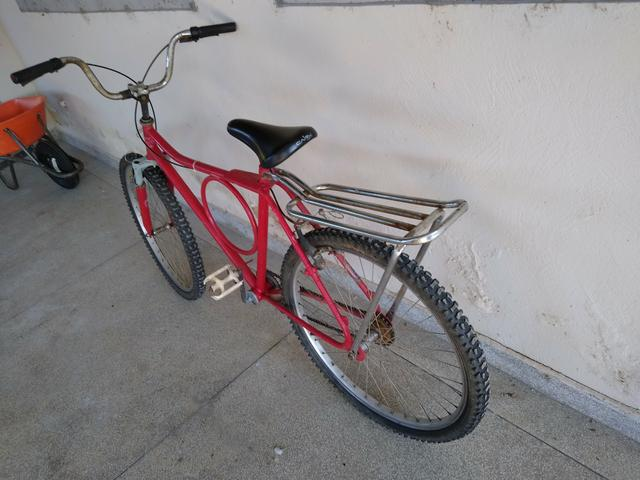 "Bicicleta barra forte ,26"" - Foto 5"