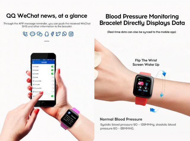 Entrega Grátis Maceió * Relógio Smartwatch Bakeey 116 Plus Batimentos Pressão Passos - Foto 5