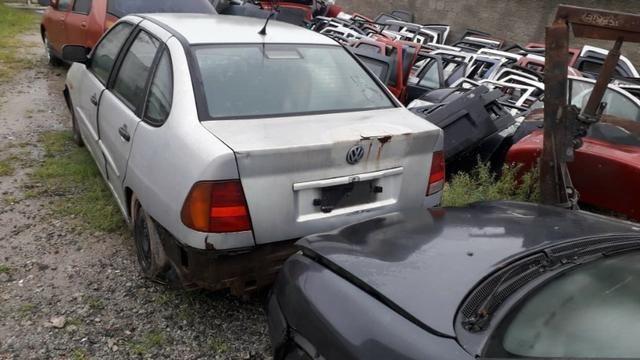 VW Polo Classic 99/00 Sucata em peças e acessórios - Foto 7
