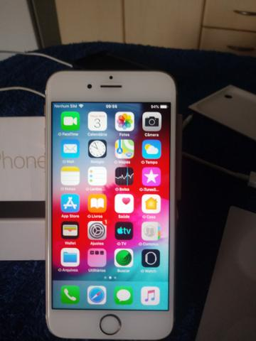 Iphone 6s dourado - Foto 4