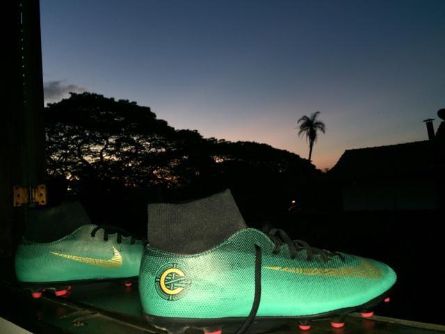81d06bd5cc Chuteira Nike Botinha CR7 (Tam 42) (OPORTUNIDADE) (MUITO CONSERVADA ...