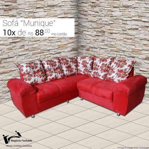 Jogos de sofá com fabricação própria - Móveis - São Pedro ... 5717abda4d520