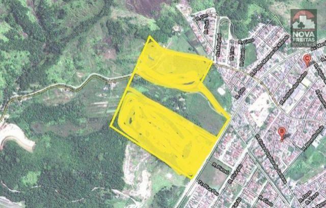 Galpão/depósito/armazém à venda em Poiares, Caraguatatuba cod:AR0170