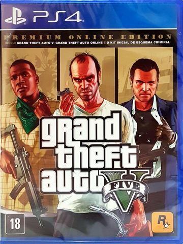 Gta V Premium Online Edition PS4 Lacrado