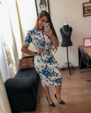 5d386579d Vestidos Moda Evangélica Atacado & Varejo - Roupas e calçados ...