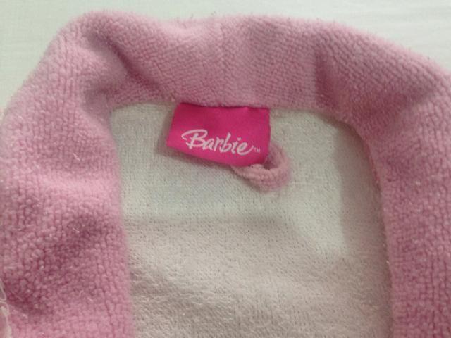 2c0e6ba7497039 Roupão infanto juvenil Barbie