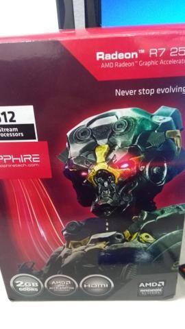Placa de video R7 250 2GB