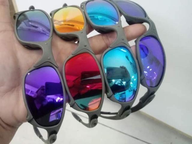 ed4305af3e Óculos de sol masculino oakley juliet vários modelos qualidade pelo menor  preço !