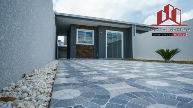 Casa à venda com 3 dormitórios em Nações, Fazenda rio grande cod:CA00058 - Foto 2