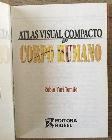 Atlas Visual compacto corpo humano capa dura livro novo R$45,00 C. Frio - Foto 3