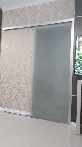 Porta de vidro 90cm