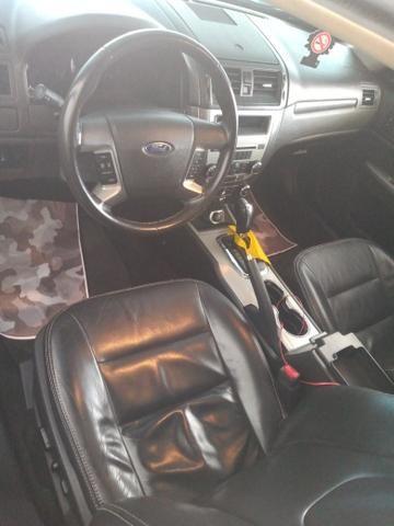 Ford fusion 2012 top de linha com teto - Foto 5