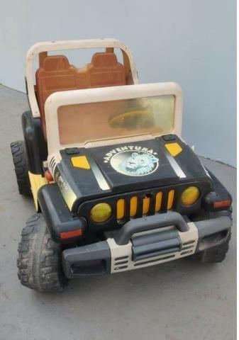 Carrinho jeep eletrica perego