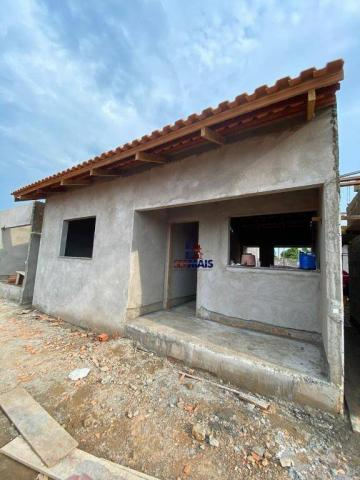 Casa com 2 dormitórios à venda por R$ 125.000 - Orleans Ji-Paraná I - Ji-Paraná/RO - Foto 5