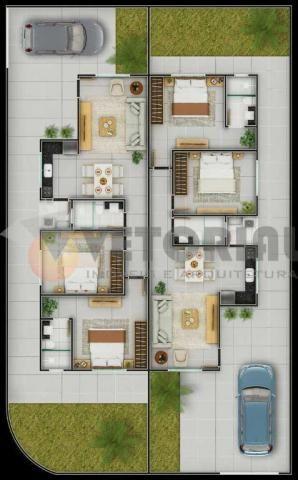 Casa com 2 dormitórios à venda, 68 m² por R$ 250.000 - Golfinho - Caraguatatuba/SP - Foto 2