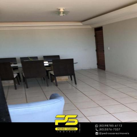 Apartamento com 3 dormitórios à venda, 147 m² por R$ 440.000 - Intermares - Cabedelo/PB - Foto 15