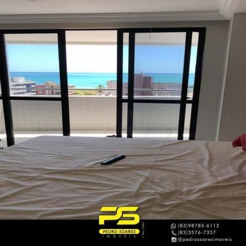Apartamento com 3 dormitórios à venda, 147 m² por R$ 440.000 - Intermares - Cabedelo/PB - Foto 10