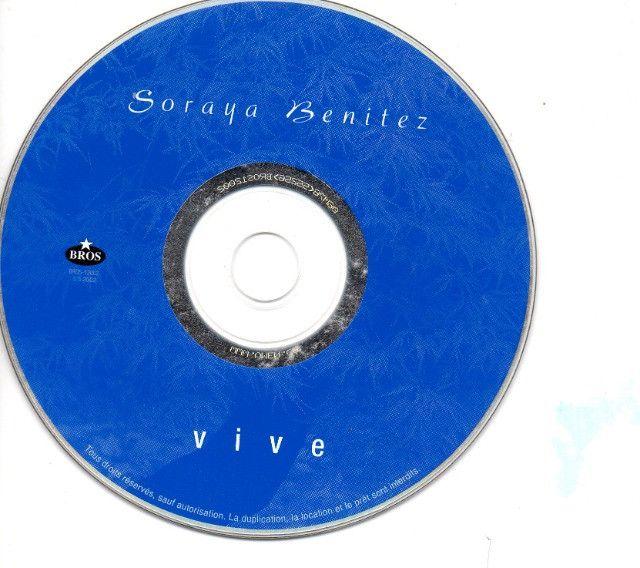 Cd Jazz - Soraya Benitez - Vive - Foto 3