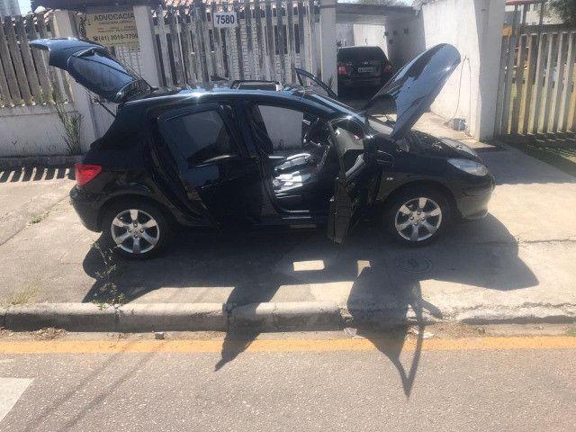 Peugeot 307 Hatch Soleil Presence Pack, couro, Teto Solar, total flex etc - Foto 10