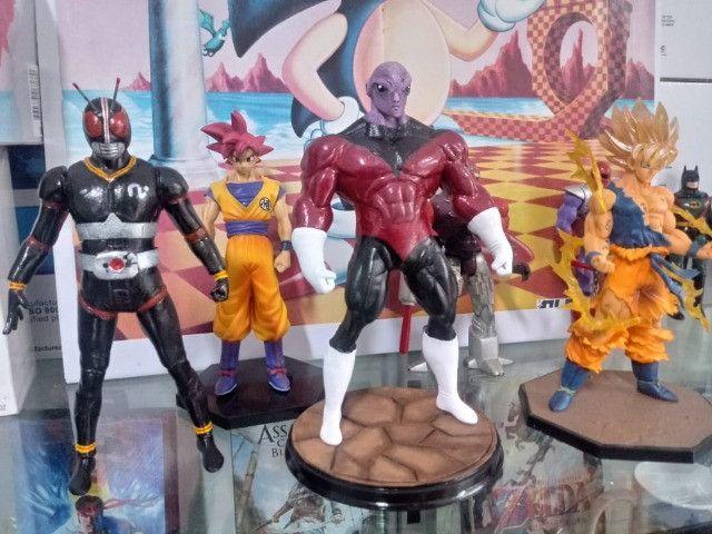 Jaspion, Kamem rider, Jiraya, Goku, Jiren (action figure) - Foto 2