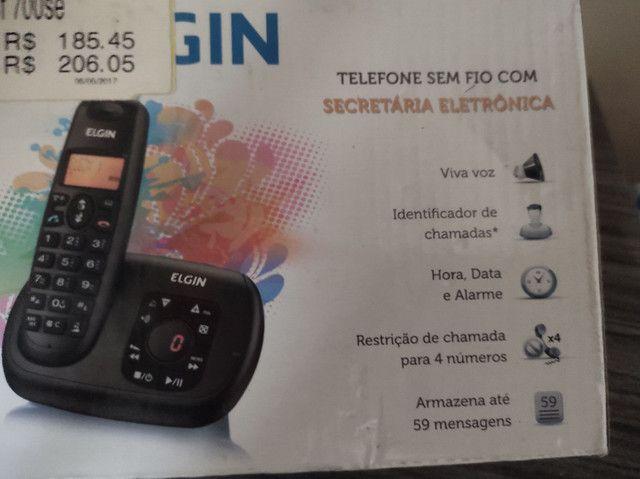 Telefone sem fio marca Elgin - Foto 3