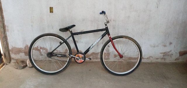 Bicicleta freio contrapedal
