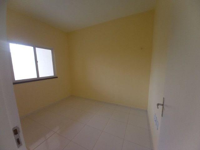 JP casa nova de 3 quartos 2 banheiros em rua asfaltada e do lado da sombra - Foto 7