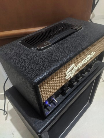 Amplificador Valvulado Egnater Tweaker + caixa 1x12 alto falante Eminence - Foto 5