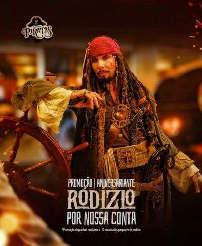 Personagens vivos Pirata Jack Sparrow , homem aranha deadpool  etc - Foto 4