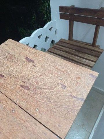 Conjunto mesa e cadeiras  - Foto 4