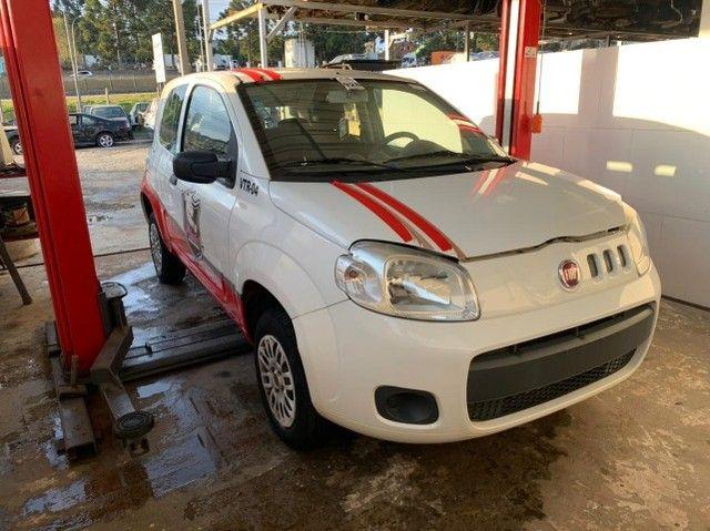 Fiat Uno Vivace 2015 Sucata para retirada de peças