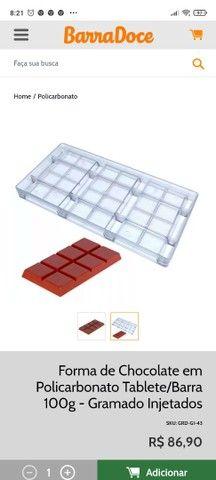 Forma para chocolate (barra 100g) - Foto 2