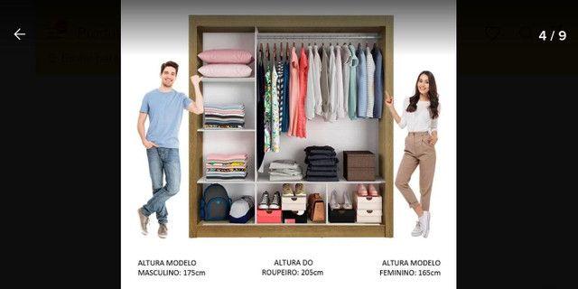 Guarda roupa de casal - Foto 2