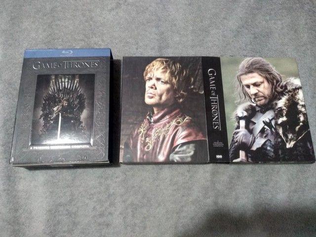 Box Raro - Blu-ray - Game of Thrones (1º Temporada) - Foto 6